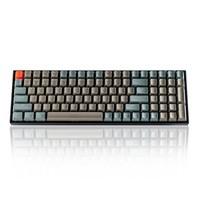 京东PLUS会员:京东京造 K4 100键 蓝牙双模 机械键盘(Gateron红轴、白色背光)