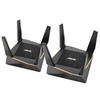 双11预售:ASUS 华硕 RT-AX92U AX6100 WiFi6 无线路由器 两只装