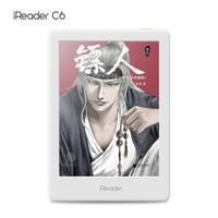 京东PLUS会员:iReader 掌阅 C6 6英寸 彩色墨水屏 电子书阅读器