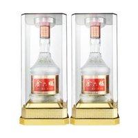 京东PLUS会员: 金六福  四川五粮酿造酒52度 500ml*2瓶