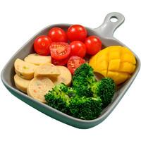 聚划算百亿补贴:肌肉小王子  鸡肉蔬菜饼 60g*10袋