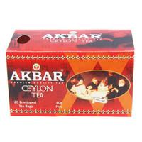 AKBAR 雅客巴精选锡兰红茶 40g(20x2g)  *21件