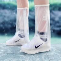鲁周元素 防水防滑高筒雨鞋套 *2件