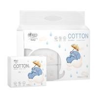 心相印 婴儿棉柔巾 100抽 6包 +凑单品