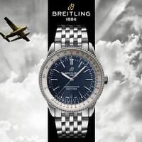 真心好礼:BREITLING 百年灵 航空计时系列 A17326211C1A1 机械腕表