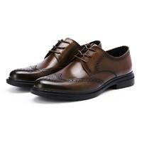 有券的上、京东PLUS会员:BeLLE 百丽 6UT01AM0 布洛克正装皮鞋