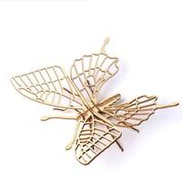 移动专享:约巢 约巢 木质昆虫动物3D立体 拼图  蝴蝶