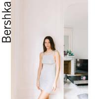 Bershka 00438376808 女士吊带连衣裙