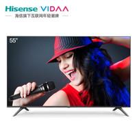 Hisense 海信 VIDAA 55V1F 55英寸 4K 液晶电视