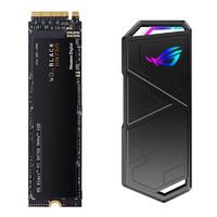 WD 西部数据 Black系列 SN750 M.2 NVMe 固态硬盘 1TB + ROG 玩家国度 Strix Arion NVMe M.2 固态硬盘盒