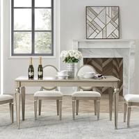 聚划算百亿补贴:UVANART 优梵艺术 萨凡纳 美式轻奢实木餐桌 1.4m
