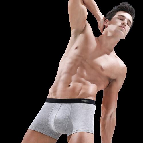 Langsha 浪莎 ES8113 男士平角纯色款内裤