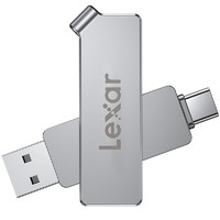 Lexar 雷克沙 D30c U盘 64GB USB 3.1 Type-C双接口闪存盘