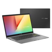 ASUS 华硕 VivoBook14X 2020版 14英寸笔记本电脑(i5-10210U、8GB、512GB+32G傲腾、MX250)
