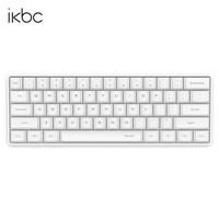 粉丝价: iKBC poker 61键机械键盘 (Cherry黑轴、白色)