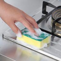 钢盾  厨房双面洗碗海绵擦 30片
