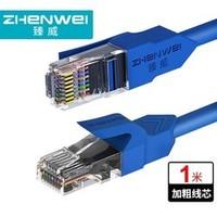 ZHENWEI 臻威 超五类百兆网线 1m