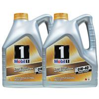 Mobil 美孚 1号全合成机油 FS 0W-40 A3/B4 SN 4L 2瓶装
