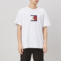 12日0点:TOMMY HILFIGER RE0RE00545 徽标刺绣短袖