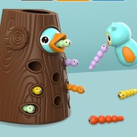 搭啵兔  儿童益智猫头鹰啄木鸟玩具