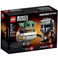 新品发售:LEGO 乐高 方头仔系列 75317 曼达洛人与 the Child
