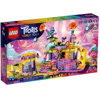 百亿补贴、新品发售:LEGO 乐高 魔发精灵2世界之旅系列 41258 震波城音乐会
