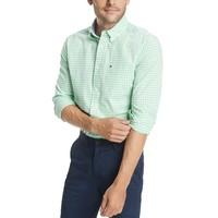男款 Tommy Hilfiger|男式长袖细格修身版衬衣