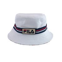 FILA 斐乐 日系双面渔夫帽