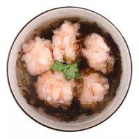 海名威 冷冻新鲜青虾滑 150g *11件