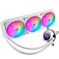 华硕(ASUS)ROG STRIX LC 360 RGB WE小白龙 白色纪念版一体式CPU水冷散热器 RGB版