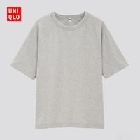 UNIQLO 优衣库 430090 插肩袖圆领T恤