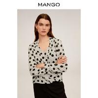 MANGO 芒果 67064431 缎面衬衫
