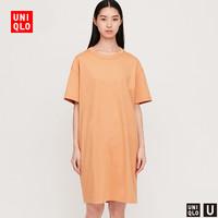 Uniqlo 优衣库 422516 圆领T恤式连衣裙