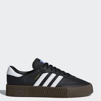 邮税补贴:adidas Originals Womens Sambarose Trainers 女士板鞋