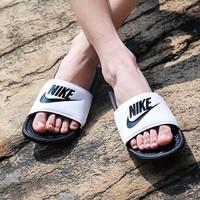 限尺码:NIKE 耐克 男士沙滩拖鞋  *2双