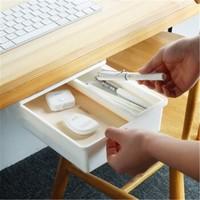 移动专享:PGY 免打孔粘贴式桌底收纳盒