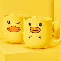 桫椤 小黄鸭可爱儿童漱口杯 2个装