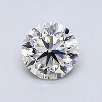 Blue Nile 1.00克拉圆形切割钻石(良好切工、J级成色、VVS1净度)
