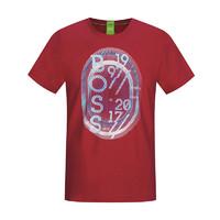 限尺码:Hugo Boss 雨果博斯 男士印花短袖T恤