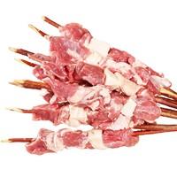不打烊大排档:青草家 新疆红柳羊肉串 半成品烧烤肉串 1000g