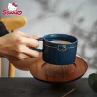 HelloKitty咖啡杯 欧式小奢华办公室复古咖啡杯套装ins陶瓷咖啡杯