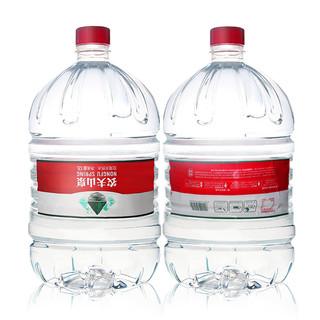 农夫山泉桶装水12L*1桶 天然弱碱性水大瓶桶装矿泉水 2箱包邮
