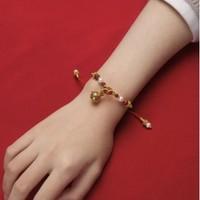 真心好礼:香九吟 唐·玲珑银鎏金手链