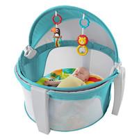 京东PLUS会员、历史低价:Fisher-Price 费雪 儿童便携多功能帐篷婴儿床 +凑单品