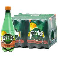 刚需可入:perrier 巴黎水 天然气泡矿泉水(西柚味)塑料瓶装 500ml*24瓶/箱