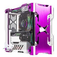 Apexgaming 美商艾湃电竞 G3M M-ATX电脑机箱 紫色