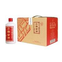 小糊涂仙 小糊涂神 佳酿4+2(量贩裸瓶装) 浓香型白酒 52度 500ml*6瓶 整箱装 +凑单品