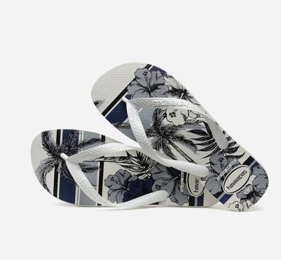 Havaianas 哈唯纳 4111355 男款木槿花人字拖鞋