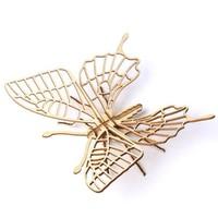 移动专享:约巢  木质昆虫动物3D立体 拼图  蝴蝶