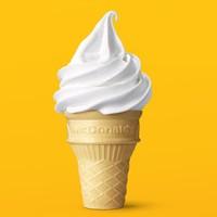 麦当劳 圆筒冰淇淋 单次券